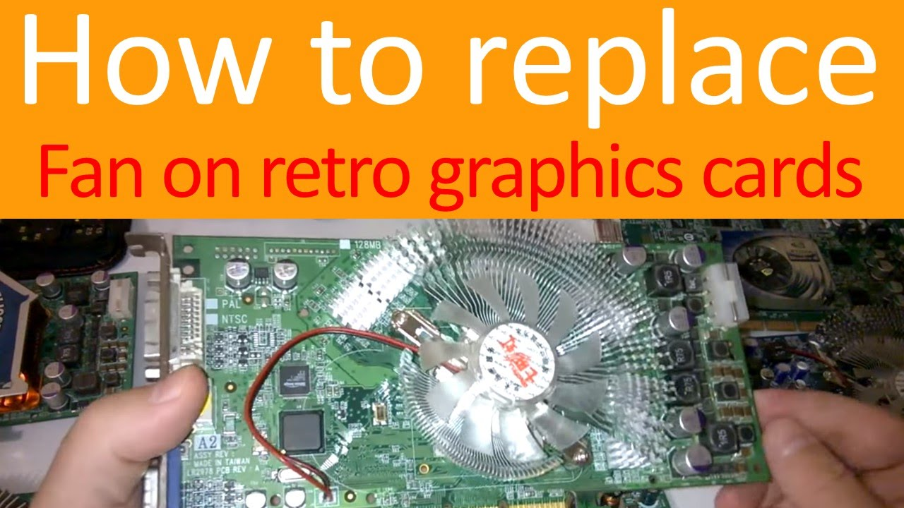 Replace the graphics card