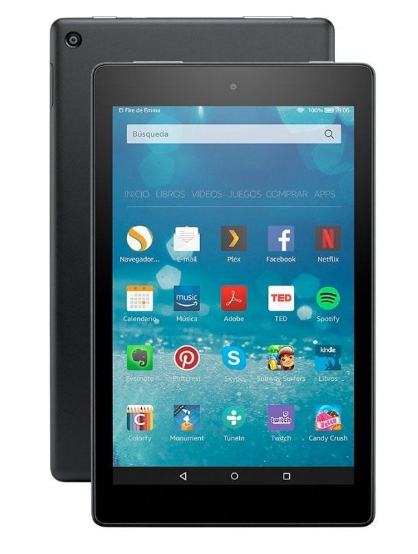 """The 3 best tablets for less than 100 euros in 2019: Amazon Fire 8 """""""