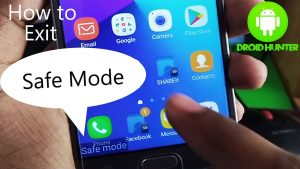 Enable Device's Safe Mode